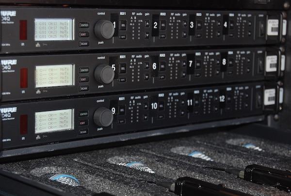 Shure ULX-D 12-Channel Rack
