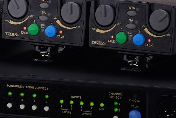 Telex BTR80N 4-Beltpack Wireless Comm System