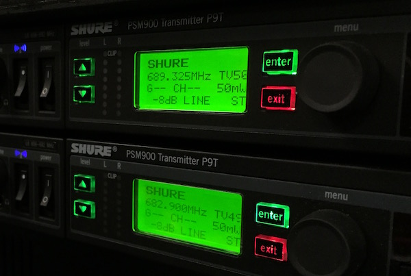 Shure PSM900 4-Channel Rack