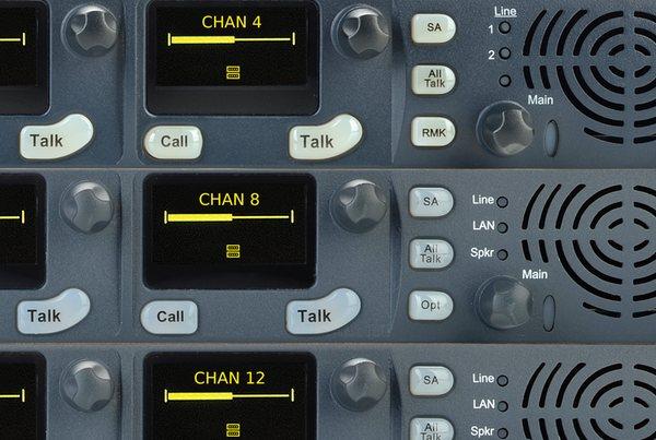 Clear-Com HelixNet Digital Intercom Rack