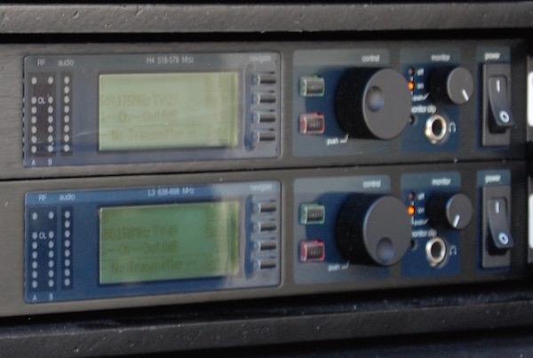 Shure UHF-R Dual Combo